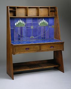 Escritorio por   Charles Rennie Mackintosh, 1904