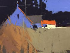 British pastel master Tony Allain represented on Cape Cod exclusively at Gallery 31 Fine Art — Gallery 31 Fine Art Varie tecniche, ( miste ) Landscape Prints, Contemporary Landscape, Landscape Art, Landscape Paintings, The Artist Magazine, Building Painting, Sketch Painting, Architecture Old, Pastel Art