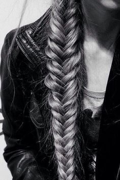 braid and leather