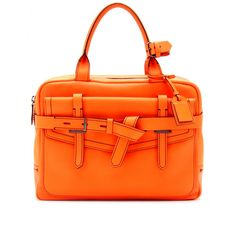 Fighter Neon Leather Tote ♦ Reed Krakoff » mytheresa.com