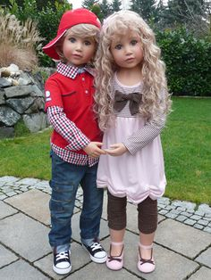 "Mason & Dakota (Twins) 46"" Monika Peter Leicht"