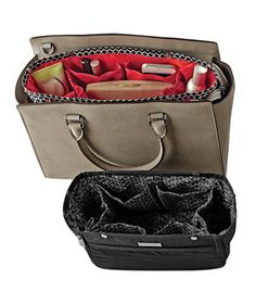 in.bag Handbag Organizer: With seven interior compartments and two side pockets, it's easy to keep the contents of your bag corralled and within reach.