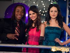 Andre, Tori, and Jade all dressed up for the Prome!