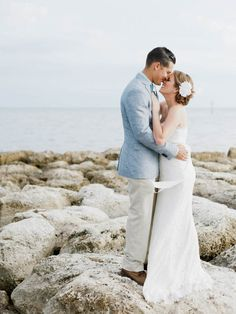Intimate Key West Wedding I Photos by Merari Photography