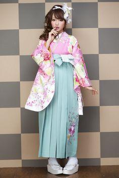 可愛い系袴 ピンク色 可愛い系袴 STYLEが大人気 卒業式の袴Styleは女の子の特別な1日!友達と差をつける!! 格安にてご提供!