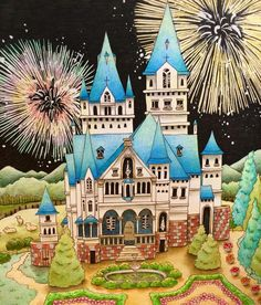 Romantic Country Coloring Book --> If you're looking for the most popular coloring books and supplies including gel pens, colored pencils, watercolors and drawing markers, check out our website at http://ColoringToolkit.com. Color... Relax... Chill.