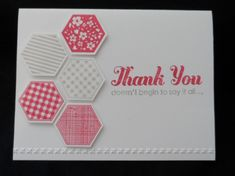 Six-Sided Thanks by lisacurcio2001 - Cards and Paper Crafts at Splitcoaststampers