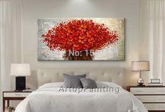 Aliexpress.com: Comprar Flor de pared pintados a mano del cuchillo ...