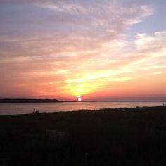 Sunset At Seabrook Island