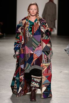 ::: OutsaPop Trashion ::: DIY fashion by Outi Pyy :::: Claire Storey patchwork knitwear