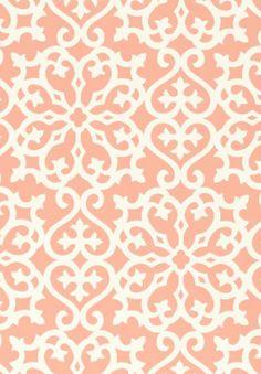 Allison coral #Thibaut #Geometric