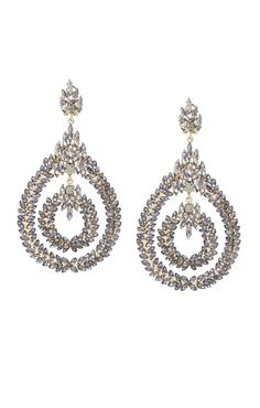 Stone Statement Earrings | BCBG