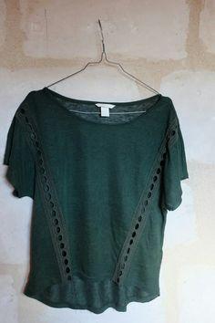 T-shirt manche courte vert