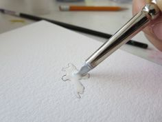 Craftsy Blog | How to Use Masking Fluid in Watercolor Painting