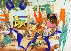 David Salle | Fusco, 2012