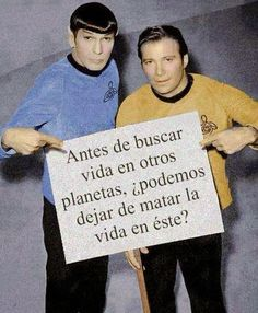 Funny pictures about Star Trek Message. Oh, and cool pics about Star Trek Message. Also, Star Trek Message photos. Star Treck, Bien Dit, Before We Go, Choose Life, Morning Humor, In This World, Decir No, Science Fiction, Encouragement