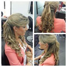 #hair #cabello #peinado #upDo #mediaCola #wave #ondas #hairdresser #hairstylist #estilista #peluquero #panama #pty