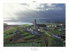Poster photo Bretagne-Ile de Batz-Finistère- Philip Plisson