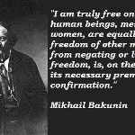 #QUOTE: Mihail Bakunin(1814-1876) on #Freedom. #Anarchism #Politics #Quotes #Revolution #Socialism Anarchism, Socialism, Revolution, Freedom, Politics, Quotes, Liberty, Qoutes, Political Freedom