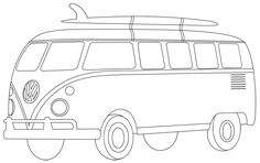 campervan template col