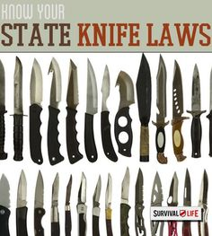 Is That Switchblade Legal? | Knife Laws By State | Survival Life  -  This article is very useful providing laws, descriptions and precedents for knife ownership and carryability in the 50 United States.