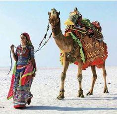 Camel Animal, Body Painting Festival, Amazing India, Arab Women, Jolie Photo, North Africa, World Cultures, People Around The World, Beautiful Children