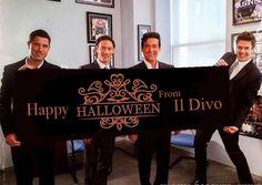 "Thanks for sharing @my_il_divo  RepostBy @my_il_divo: ""Happy Halloween  @ildivo  #myildivo #ildivo  #ildivotour #ildivoofficial #halloween #happyhalloween #carlosmarin #davidmiller #ursbuhler #sebastienizambard #famous #special #bestband #music #greatband #amazingsingers #amazingband #amazingvoice #gentlemen #classical #popopera #artists #lovely #cuteguys #singers  #instamusic"" (via #InstaRepost @AppsKottage)"