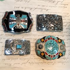 Spoil yourself or someone special on your list with a tooled or studded, or exotic skin belt.Or complement a classic leather belt with a buckle in all manner of shapes and sizes from Chacon, Clint Orms, Silver King, Johnson & Held and Comstock Heritage.