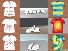 Image titled Tie Dye a Shirt the Quick and Easy Way Step 5 tye dye shirts easy Fête Tie Dye, Tie Dye Party, Kids Tie Dye, Bleach Tie Dye, Tye Dye, Bleach Pen, Easy Diy Tie Dye, Make A Tie, How To Tie Dye