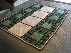 Prairie Afghan free pattern