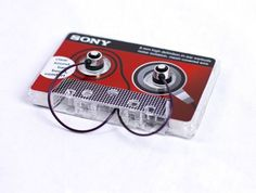 Sony Earbuds Cassette Packaging