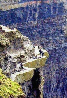 A nice walk on the cliffs of Moher, County Clare, Ireland Amazing Geologist