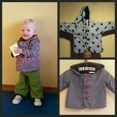 Funky Toddler Jackets - inspired by Burda Style Magazine 9/13 - made by Agapantha