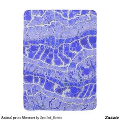 Animal print Abstract Baby Blankets