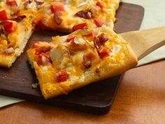 chicken bacon ranch pizza.