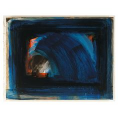 British painter and printmaker Famous Artwork, Cool Artwork, Howard Hodgkin, Classic Artwork, Blue Abstract Painting, Mark Making, Abstract Expressionism, Creative Art, Modern Art