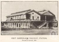 First Queensland Railway Station, erected at Ipswich Brisbane River, Brisbane Queensland, Queensland Australia, South Australia, Western Australia, Ipswich Qld, Australian Models, Tasmania, Back In The Day