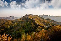 """Great Wall At Fall 2"" captured by David Hobcote. (Click image to see more from David Hobcote.)"