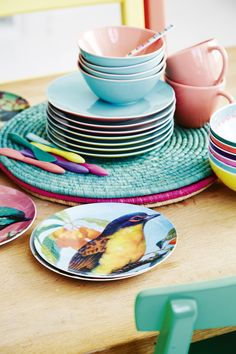 Bird plates and ceramics from our AW13 Collection!