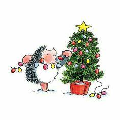 "♡☆ ""Decorating My Hedgie Christmas Tree"" ☆♡"