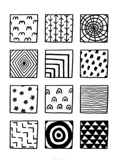 100+ Fun, Easy Patterns to Draw Easy Patterns To Draw, Simple Designs To Draw, Doodle Pages, 100 Fun, Tattoo Design Drawings, Basic Shapes, Pattern Drawing, Abstract Shapes, Easy Drawings