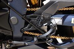 Yamaha R1 SP Valter Moto model works multi-adjustable rearsets