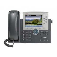 The Cisco Unified IP Phone is designed to grow with your organization and enhancements to your system capabilities. The dynamic feature set allows the phone to keep pace with your requirements t Unified Communications, Cisco Systems, Network Cable, Office Phone, Noise Cancelling, Landline Phone, Things To Sell, Electronics, Products