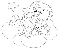 bear printable coloring pages