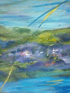 Waterlilies by TuckerDemps.  Original, oil on canvas, 16x20.