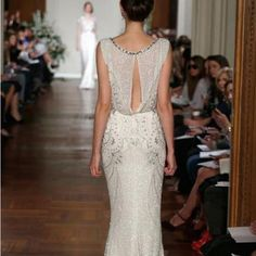 Dress To Impress: Summer 2013 Evening Dresses vestidos de novia, blanco, wedding dress, white, vestidos Wedding Gowns, Bridal Dresses, Backless Wedding, Gatsby Wedding, Prom Dresses, Art Deco Wedding Dress, Dress Prom, Beaded Dresses, Formal Dress