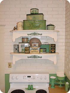 green tins