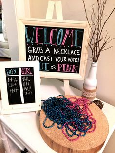 """Blue or Pink: What Do You Think?"" Gender Reveal Party Sweetwood Creative Co. 