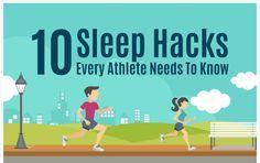 10 Sleep Hacks Every Athlete Needs To Know [Infographic]