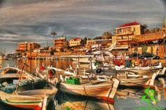 Sunset colors in #Byblos ألوان المغيب في #جبيل By Yujapi #WeAreLebanon #Lebanon